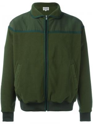 Флисовая куртка на молнии C.E.. Цвет: зелёный