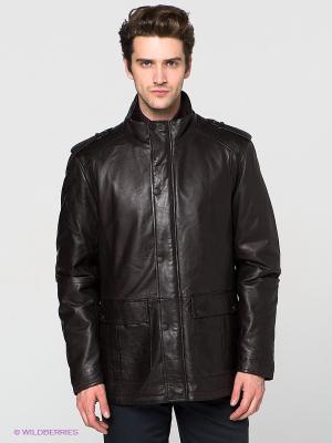 Куртка Jorg Weber. Цвет: темно-коричневый