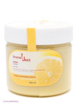 Твердое масло Лимон, 300 мл АРОМАДЖАЗ. Цвет: светло-желтый