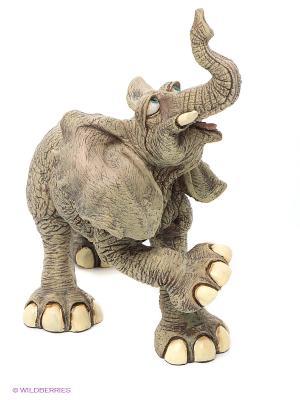 Фигурка Слон Sealmark. Цвет: серо-коричневый