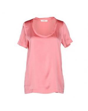 Блузка SUOLI. Цвет: розовый