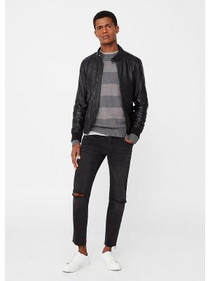Куртка - BERPY MANGO MAN. Цвет: черный