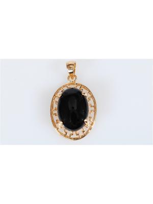 Кулон Lotus Jewelry. Цвет: золотистый, черный