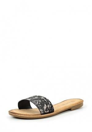 Шлепанцы Sergio Todzi. Цвет: черный