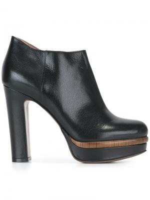 Ботинки на каблуке  LAutre Chose L'Autre. Цвет: чёрный