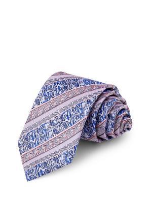 Галстук GREG. Цвет: синий, сиреневый