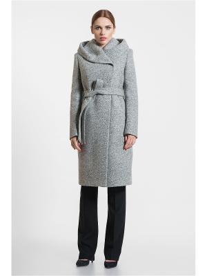 Пальто Gotti. Цвет: серый