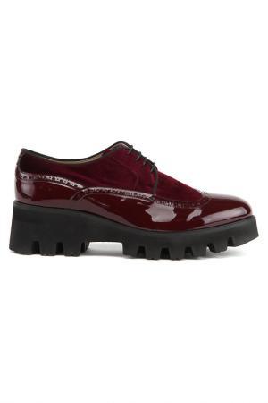 Ботинки Bouton. Цвет: бордовый