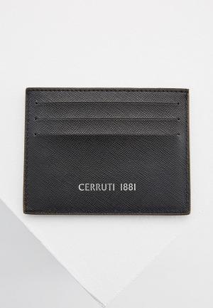 Визитница Cerruti 1881. Цвет: черный