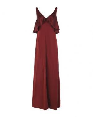 Длинное платье JILL STUART. Цвет: красно-коричневый