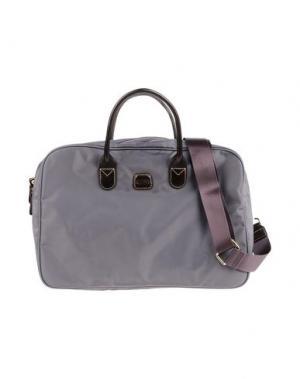 Деловые сумки BRIC'S. Цвет: голубиный серый