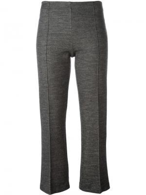 Укороченные брюки By Malene Birger. Цвет: серый