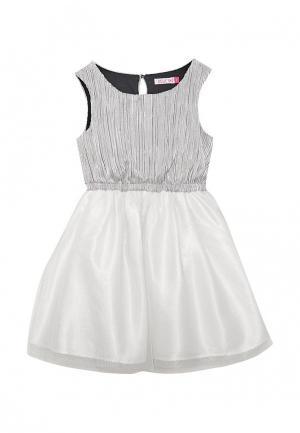 Платье Sela. Цвет: серебряный