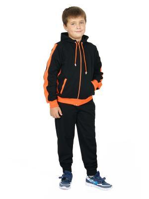 Костюм CROSS sport. Цвет: оранжевый
