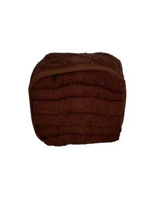 Полотенце кухонное Seta. Цвет: коричневый