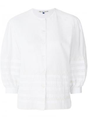 Рубашка с вышивкой Jupe By Jackie. Цвет: белый