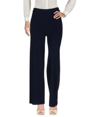 Повседневные брюки AMÀNDULA. Цвет: темно-синий