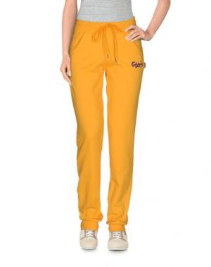 Повседневные брюки CARLSBERG. Цвет: желтый