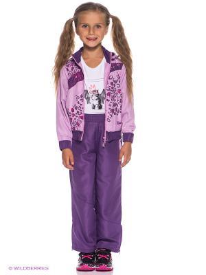 Спортивный костюм YRMI. Цвет: сиреневый, фиолетовый