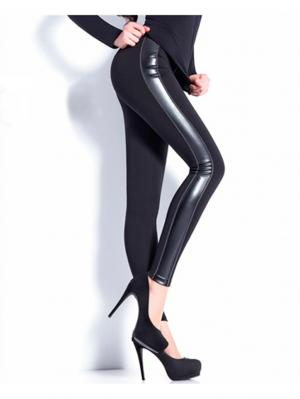 Леггинсы, модель LEGGY STRONG 02 Giulia. Цвет: черный