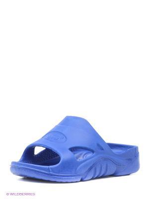 Шлепанцы Дюна. Цвет: синий, индиго