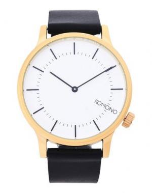 Наручные часы KOMONO. Цвет: белый