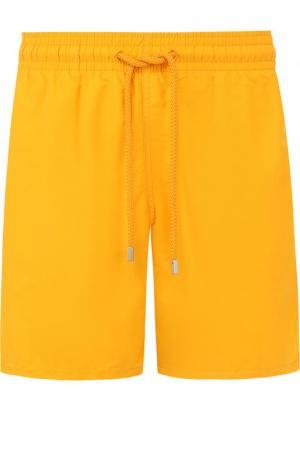 Плавки-шорты с карманами Vilebrequin. Цвет: оранжевый