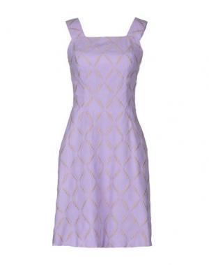 Короткое платье TOCCA. Цвет: сиреневый