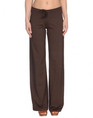 Пляжные брюки и шорты FISICO. Цвет: темно-коричневый