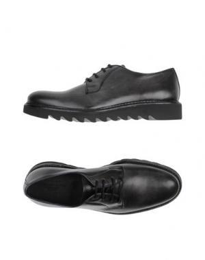 Обувь на шнурках HERMAN & SONS. Цвет: стальной серый