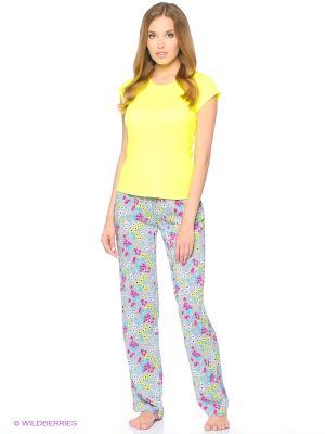 Пижама Infinity Lingerie. Цвет: желтый