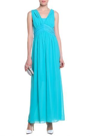 Платье D.Exterior. Цвет: голубой