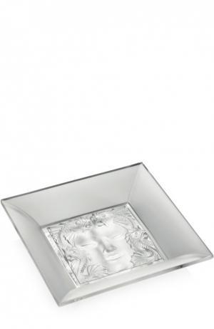 Мелочница Masque De Femme Lalique. Цвет: бесцветный