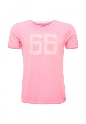 Футболка Scotch&Soda. Цвет: розовый