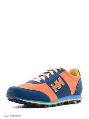 Кроссовки RAEBURN B&B Helly Hansen. Цвет: синий, оранжевый