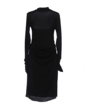Платье до колена LALTRAMODA. Цвет: черный