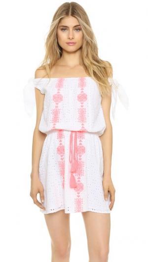Платье Capri PAMPELONE. Цвет: белый