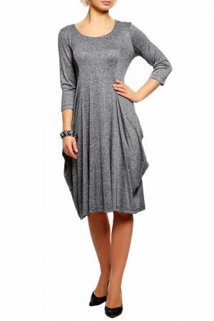 Платье Melani. Цвет: серый