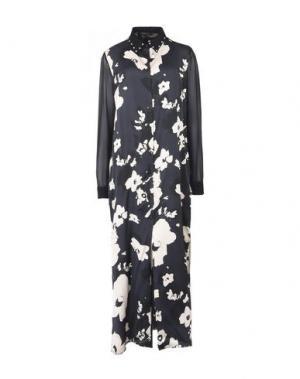 Длинное платье TWIN-SET Simona Barbieri. Цвет: черный