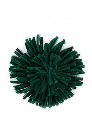 Брошь ALTER EGO. Цвет: зеленый