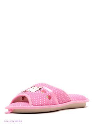 Тапочки De Fonseca. Цвет: бледно-розовый