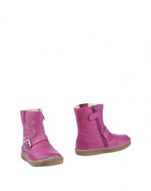 Полусапоги и высокие ботинки FALCOTTO by NATURINO. Цвет: розовато-лиловый