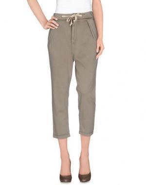 Повседневные брюки HAIKURE. Цвет: хаки