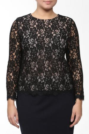 Блуза DIANE VON FURSTENBERG. Цвет: черный, бежевый