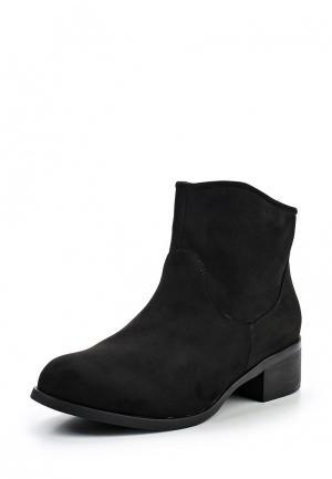 Ботинки Tom & Eva. Цвет: черный