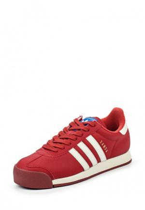 Кроссовки adidas Originals. Цвет: красный