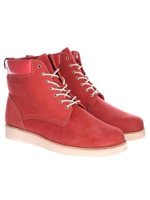 Ботинки зимние Rheinberger Teana Classic Red: женские, 79826, 36. Цвет: красный