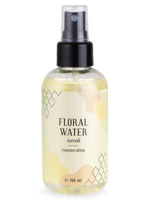Флоральная вода нероли регенерация кожи 150 мл Huilargan. Цвет: желтый