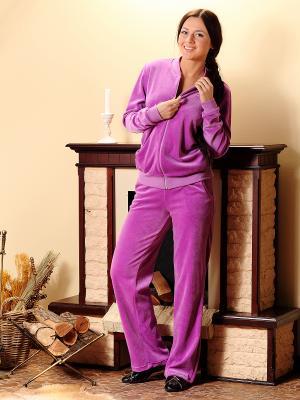 Спортивный костюм Nuova Vita. Цвет: лиловый