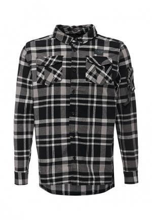 Рубашка MeZaGuz. Цвет: серый